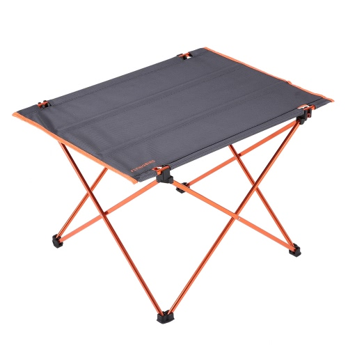 Portable Outdoor Aluminum Folding Table Ultralight Oxford Fabric Foldable Table with Bag for Camping Hiking Picnic