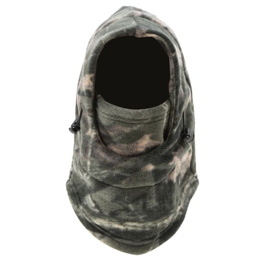 Outdoor Camouflage Winter Thermal Motorcycle Cycling Hunting Full Face Mask Y1916-11