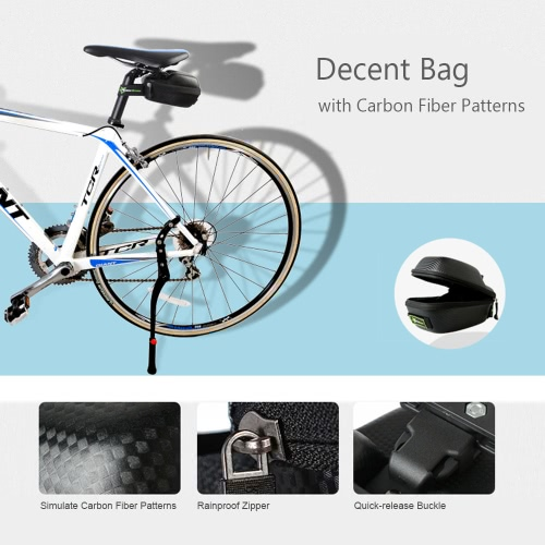 ROCKBROS Outdoor Rainproof Road Bike Saddle Bag MTB Bicycle Seat Post Bag Tail Rear Tail Pouch BagBag Supplies<br>ROCKBROS Outdoor Rainproof Road Bike Saddle Bag MTB Bicycle Seat Post Bag Tail Rear Tail Pouch Bag<br><br>Blade Length: 17.0cm