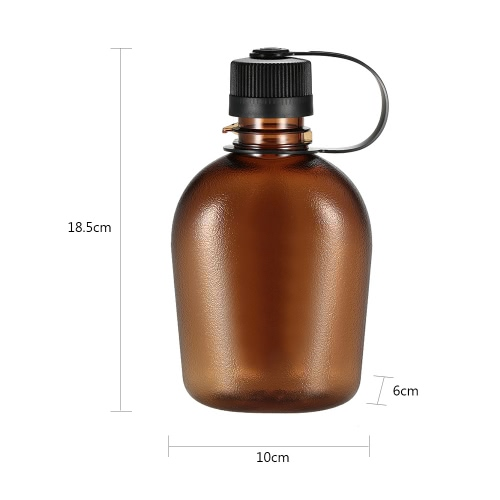 500ml/750ml Tactical Water Bottle with Handle Drinking Container Military Lightweight Portable for Outdoor LeisureCamping Furniture<br>500ml/750ml Tactical Water Bottle with Handle Drinking Container Military Lightweight Portable for Outdoor Leisure<br><br>Blade Length: 21.0cm