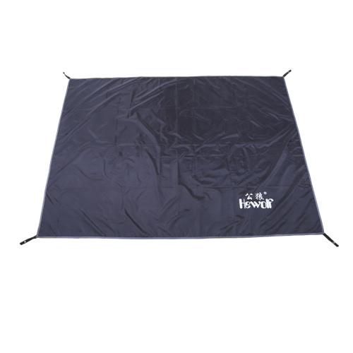 Hewolf Black Color Oxford Fabric Mat Waterproof