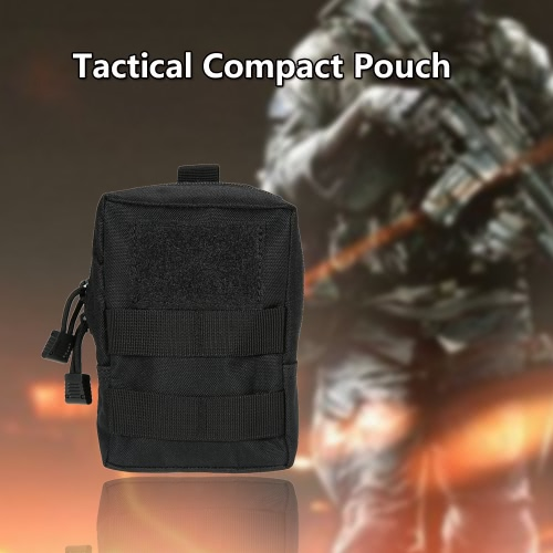 Buy Tactical Pouch Outdoor Military Compact Utility Gadget Carrier Bag Water Resistant Cell Phone Holder Accessary