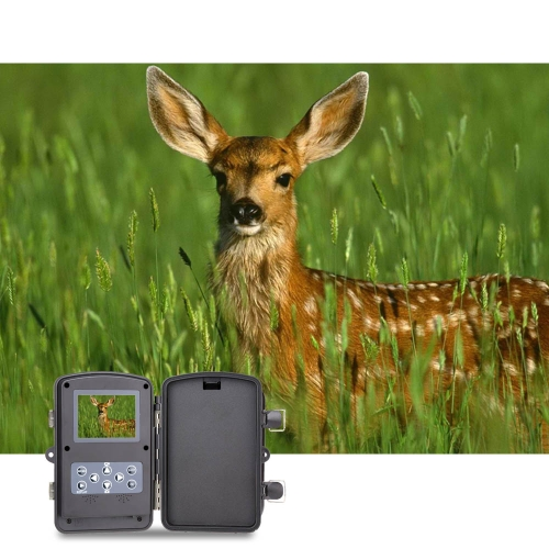 12MP Trail Camera Portable Game Cameras Wildlife Scouting Camera Hunting Camera 940NM Video Recorder HD Digital Infrared IR LED Night Vision Security Camera Y1612