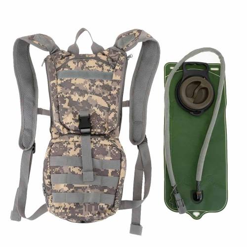Buy Outdoor Hydration Knapsack Pack Backpack + 2.5L Water Bladder Bag