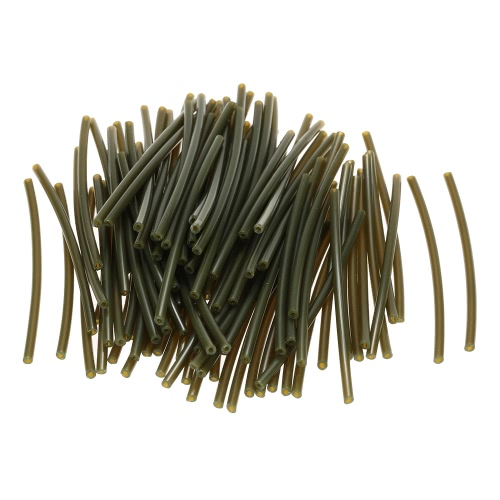 100 Pieces Heat Heating Shrink Tubing Tube Rubber Tube Small Hose Pipe Carp Fishing Accessories 6cm * 1mm Y2862
