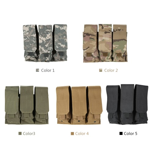 Tactical Pistol Modular Triple Magazine Pouch Military Army Combat Mag Pouch BagOthers<br>Tactical Pistol Modular Triple Magazine Pouch Military Army Combat Mag Pouch Bag<br><br>Blade Length: 24.5cm