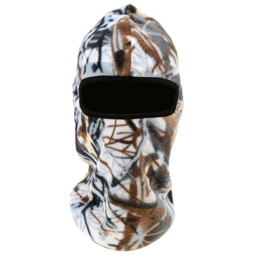 Outdoor Winter Thermal Camouflage Full Face Mask for CS WarGame Airsoft Tactical Games