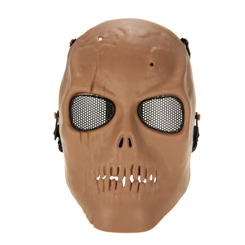 Tactical Airsoft Mask Full Face Costume Mask Outdoor Protective Face Mask for Wargame Airsoft Halloween Party CosplayOthers<br>Tactical Airsoft Mask Full Face Costume Mask Outdoor Protective Face Mask for Wargame Airsoft Halloween Party Cosplay<br><br>Blade Length: 33.0cm