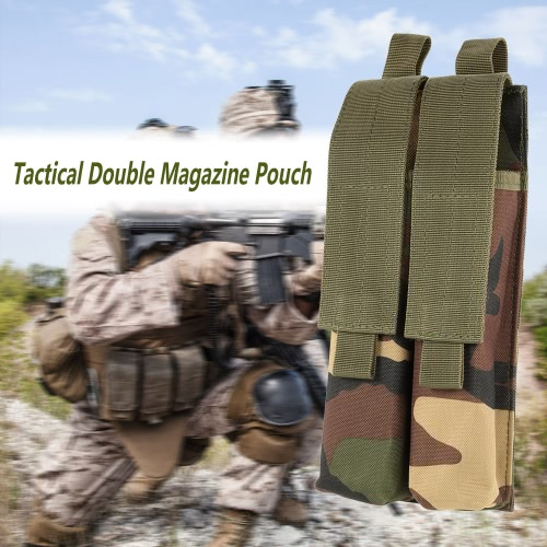 Tactical Pistol Rifle Double Magazine Mag Pouch 600D Oxford Fabric Accessary Pouch Utility ToolOthers<br>Tactical Pistol Rifle Double Magazine Mag Pouch 600D Oxford Fabric Accessary Pouch Utility Tool<br><br>Blade Length: 17.0cm