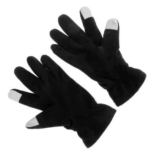 2Pcs Winter Polar Fleece Warm Thermal Touch Screen Gloves Y1984