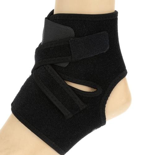 LIXADA Adjustable Sports Elastic Ankle Foot Brace