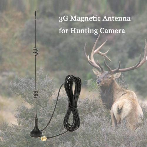 2G GSM 3G WCDMA 1800-2200MHz Magnetic Antenna for Trail Game Scouting Wildlife Hunting CameraOthers<br>2G GSM 3G WCDMA 1800-2200MHz Magnetic Antenna for Trail Game Scouting Wildlife Hunting Camera<br><br>Blade Length: 26.0cm