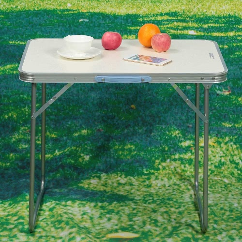 Lixada 70 * 50cm Folding Portable Table Indoor Outdoor Picnic Party Dining Camping Desk