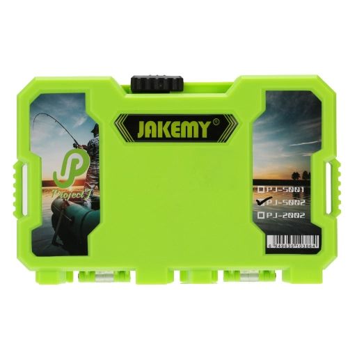 JAKEMY Assorted Fishing Tackle Set Box Fishing Accessories Kit Y2337