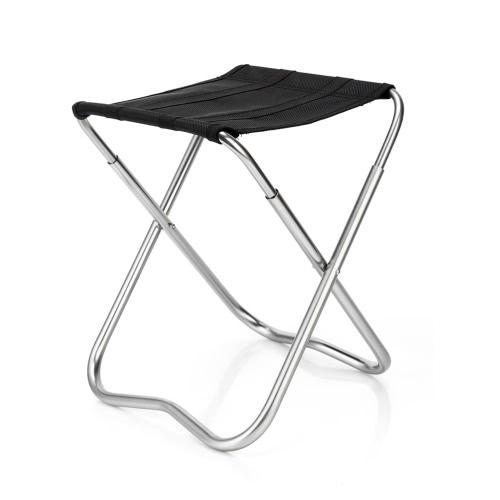 Outdoor Folding Chair Portable Folding Stool Aluminum Alloy Fishing Stool