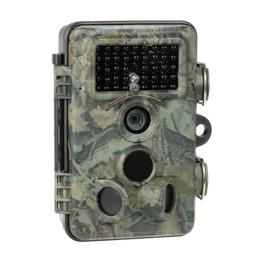 12MP 1080P HD Game and Trail Hunting Camera with Time Lapse 65ft 120�� Wide Angle Infrared Night Vision 42pcs 940nm IR LEDs Scouting Camera Digital Surveillance Video Camera