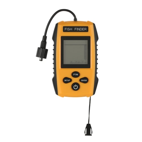 Portable Wired Fish Finder LCD Display Fishfinder Fish Location Detector with Wired Sonar Sensor Transducer for Boat Fishing Ice FishingTools &amp; Equipment<br>Portable Wired Fish Finder LCD Display Fishfinder Fish Location Detector with Wired Sonar Sensor Transducer for Boat Fishing Ice Fishing<br><br>Blade Length: 26.5cm