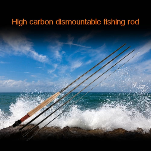 2.7M Carbon Fishing Rods Dismountable Portable Fishing
