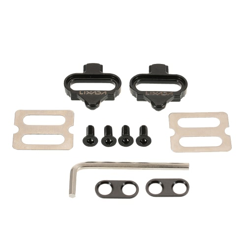 Lixada Bicycle Mountain Cleat Biking MTB Cleat Set Clips Kit W/Hardware Nuts Clip-in Cleats for Shimano SPD PedalsBicycle Pedals<br>Lixada Bicycle Mountain Cleat Biking MTB Cleat Set Clips Kit W/Hardware Nuts Clip-in Cleats for Shimano SPD Pedals<br><br>Blade Length: 14.3cm