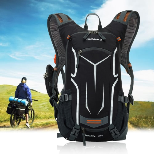 Buy LIXADA 18L Water-resistant Breathable Cycling Bicycle Bike Shoulder Backpack Ultralight Outdoor Sports Riding Travel Mountaineering Hydration Water Bag Rain Cover