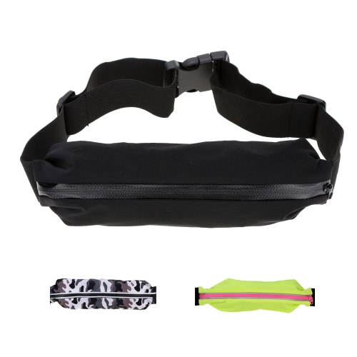Buy Waist Bag Casual Pack Sport Sweat-Resistant Running Bags Purse Mobile Phone Case