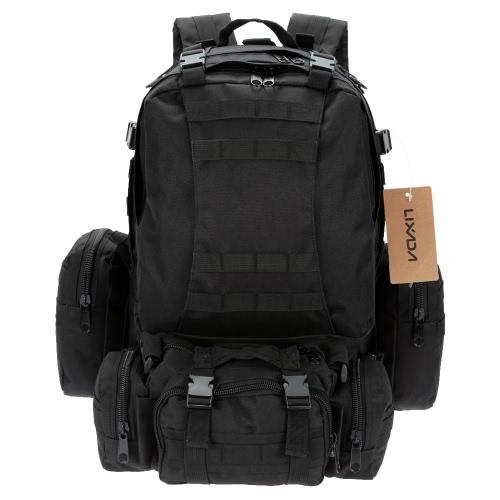Buy LIXADA Outdoor Multifunction Military Tactical Backpack MOLLE Webbings Rucksack