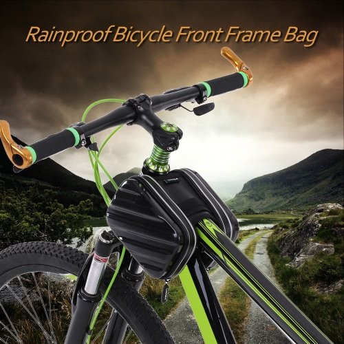 Lixada Rainproof Outdoor Cycling Hiking Riding Road Bikes MTB City Bike Bicycle Front Frame Bag Pack Double Pouch  Front Tube Bag PouchBag Supplies<br>Lixada Rainproof Outdoor Cycling Hiking Riding Road Bikes MTB City Bike Bicycle Front Frame Bag Pack Double Pouch  Front Tube Bag Pouch<br><br>Blade Length: 20.0cm