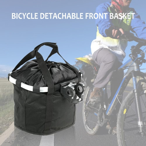Bicycle Bike Detachable Cycle Front Canvas Basket