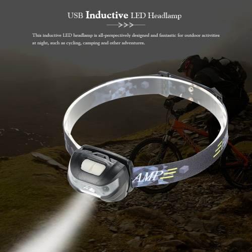 Outdoor USB LED Headlamp Headlight Water Resistant LED Inductive Flashlight Head Light LampHeadlamps<br>Outdoor USB LED Headlamp Headlight Water Resistant LED Inductive Flashlight Head Light Lamp<br><br>Blade Length: 7.0cm