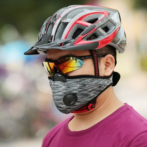 Unisex Anti Dust Motorcycle Bicycle Cycling Bike Ski Half Face Mask Filter Y3253B