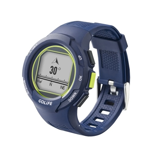 GOLiFE GoWatch 110i GPS Sport Watch Compass Activity Tracker for Walking Running Cycling Driving