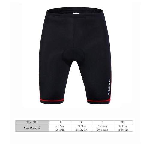 Women Outdoor Breathable 3D Silica Gel Padded Bicycle Shorts Cycling PantsCycling Clothing<br>Women Outdoor Breathable 3D Silica Gel Padded Bicycle Shorts Cycling Pants<br><br>Blade Length: 30.0cm