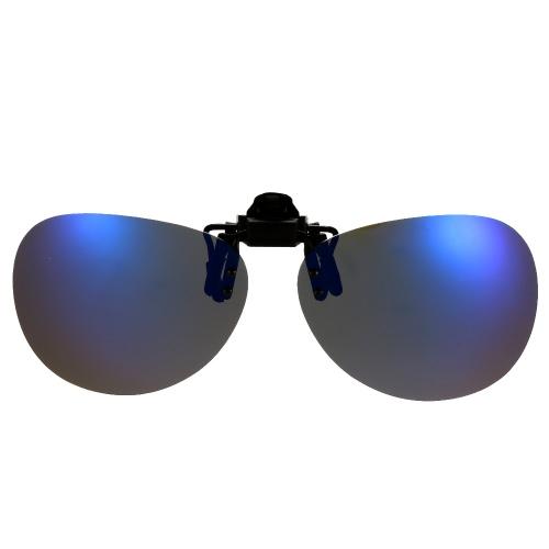 Polarized Clip On Sunglasses Lens Driving Traveling Fishing UV400 Y2033BL