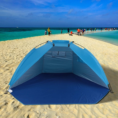 TOMSHOO Outdoor Sports Sunshade Tent for Fishing