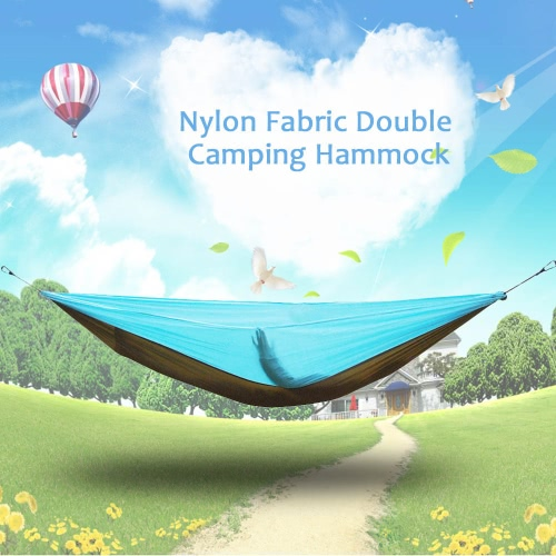 Lixada Portable Durable Compact Nylon Fabric Traveling Camping Hammock for Two PersonsSleeping Bags<br>Lixada Portable Durable Compact Nylon Fabric Traveling Camping Hammock for Two Persons<br><br>Blade Length: 19.0cm