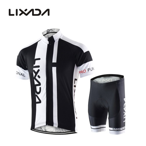 Men Breathable Quick Dry Comfortable Short Sleeve Jersey + Padded Shorts Cycling Clothing Set Riding SportswearCycling Clothing<br>Men Breathable Quick Dry Comfortable Short Sleeve Jersey + Padded Shorts Cycling Clothing Set Riding Sportswear<br><br>Blade Length: 28.0cm