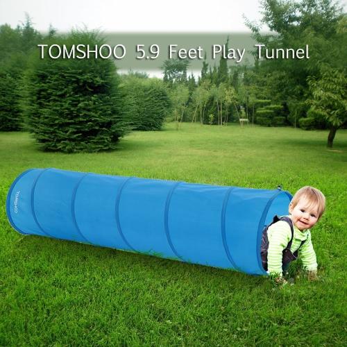 TOMSHOO 5.9 Feet Tunnel Portable Children Kids Play Tent Outdoor Garden Folding Pop Up Baby Outdoor Toy TentTents<br>TOMSHOO 5.9 Feet Tunnel Portable Children Kids Play Tent Outdoor Garden Folding Pop Up Baby Outdoor Toy Tent<br><br>Blade Length: 52.0cm