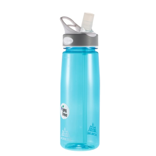 BPA Free Water Bottle 750ml Water Bottle Cycling Camping Sport Water Bottle Y3276BL