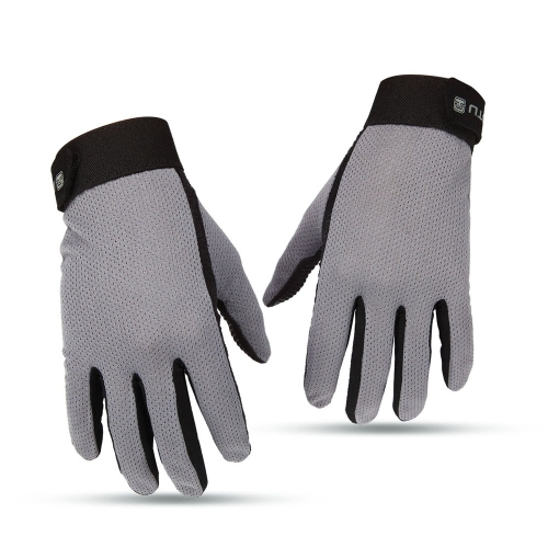 Men's Breathable Full Finger Cycling Gloves Touch Screen Gloves Y1708M