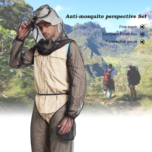 Lixada Lightweight Summer Bug Wear Mosquito Suit Head Net Sleeves Pants for Men Women With Ultra-fine Mesh Hiking Fishing Camping Bee feeding CyclingEmergency &amp;Survival Tools<br>Lixada Lightweight Summer Bug Wear Mosquito Suit Head Net Sleeves Pants for Men Women With Ultra-fine Mesh Hiking Fishing Camping Bee feeding Cycling<br><br>Blade Length: 15.0cm