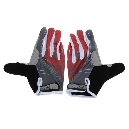 Full Finger Sports Gloves Racing Riding Road Bike Motor Cycling Bicycle Gloves Y2841R-M