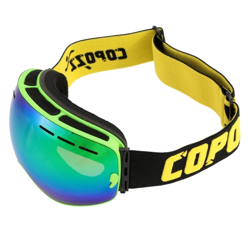 UV Protection Men Women Outdoor Sport Windproof Glasses Professional Skiing Snowboard Anti-fog Goggles Y1828GR