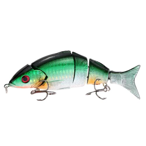 12.5cm 20g Life Like Hard Bait Multi Jointed Segmented Section Fishing Lure with Treble HooksFishing Lures<br>12.5cm 20g Life Like Hard Bait Multi Jointed Segmented Section Fishing Lure with Treble Hooks<br><br>Blade Length: 13.5cm
