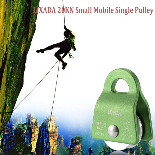 Lixada 20KN Small Mobile Single Pulley Swing Side Climbing Rigging RescueOutdoor Tools<br>Lixada 20KN Small Mobile Single Pulley Swing Side Climbing Rigging Rescue<br><br>Blade Length: 9.0cm