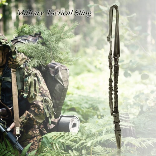 Docooler Military Tactical Safety One Point Outdoor Belt Carbine Sling Adjustable StrapEmergency &amp;Survival Tools<br>Docooler Military Tactical Safety One Point Outdoor Belt Carbine Sling Adjustable Strap<br><br>Blade Length: 24.0cm