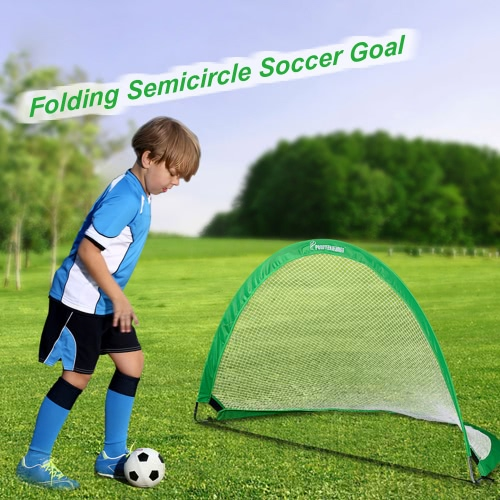 48*30*30in Semicircle Portable Folding Soccer Goal Child Pop Up Soccer Goal for Sports Training Backyard PlaygroundFootball &amp;Others<br>48*30*30in Semicircle Portable Folding Soccer Goal Child Pop Up Soccer Goal for Sports Training Backyard Playground<br><br>Blade Length: 80.0cm