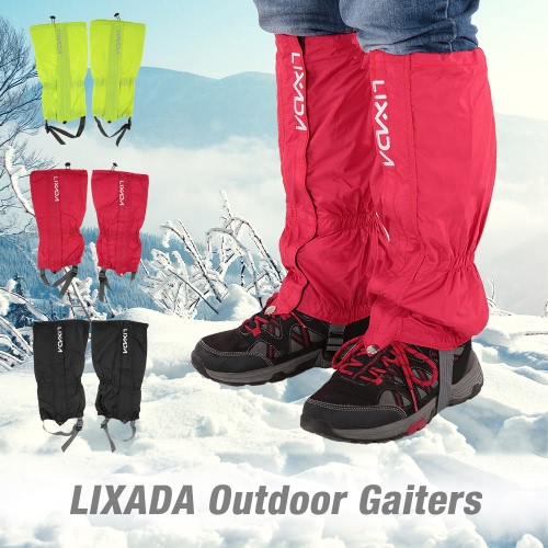 Lixada One Pair of Gaiters Outdoor Unisex Zippered Closure Wear and Water Resistant Cloth Gaiters Leggings Cover for Biking Snowboarding HikingSkiing Gears<br>Lixada One Pair of Gaiters Outdoor Unisex Zippered Closure Wear and Water Resistant Cloth Gaiters Leggings Cover for Biking Snowboarding Hiking<br><br>Blade Length: 20.0cm