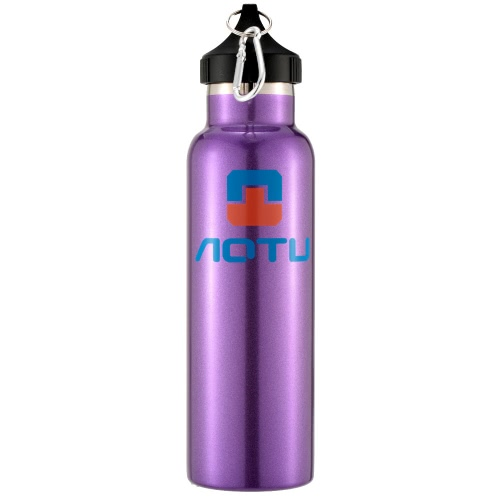 600ML Outdoor Sports Double Layer Stainless Steel Thermal Vacuum Insulation Water Bottle Vacuum Cup for Hiking & Camping Y2084PU