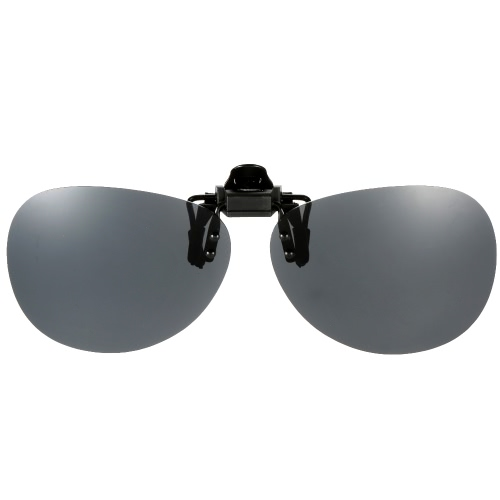 Polarized Clip On Sunglasses Lens Driving Traveling Fishing UV400