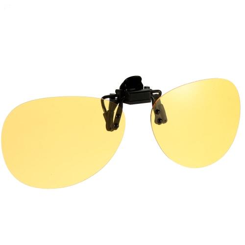 Polarized Clip On Sunglasses Lens Driving Traveling Fishing UV400 Y2033Y